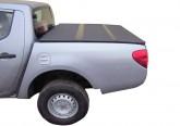 Жесткая трехсекционная крышка Mitsubishi L200 IV Triton (2006+)